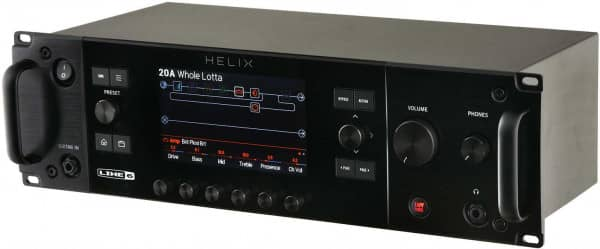 Helix Rack Guitar Processor