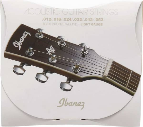 Bild von IBANEZ IACS6C Acoustic Steel Strings Coated 80/20 Bronze Light 012-053