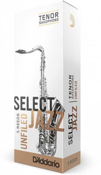 Select Jazz Unfiled - Tenor Saxophone 4M - 5er Pack