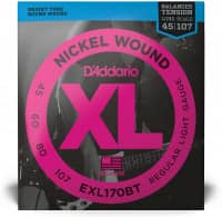 EXL170BT - XL Bass Nickel Wound, Balanced Tension, Long Scale 45-107