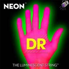 Neon HiDef Pink Bass Superstrings Medium NPB5-45