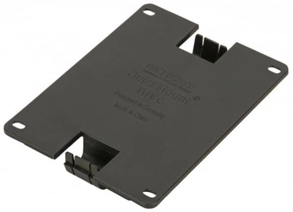 QuickMount Type C - Pedal Mounting Plate For Large Vertical Pedals