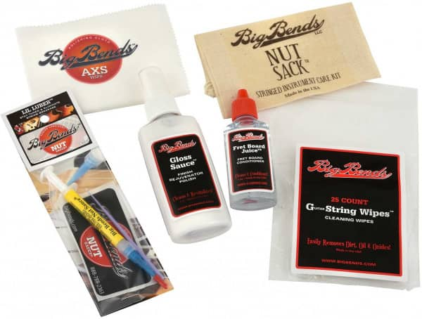 NutSack Multi Product Guitar Maintenance Pack