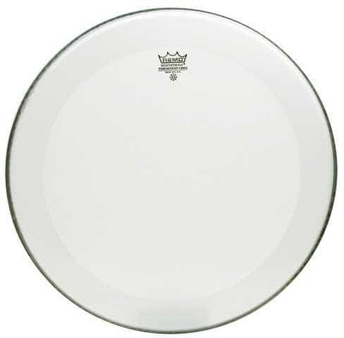Powerstroke 3 - Bassdrum Fell - Smooth White - 24 Zoll