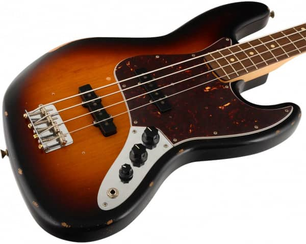 Road Worn 60s Jazz Bass RW 3TS