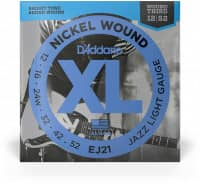 EJ21 - XL Electric  Jazz Nickel Wound 12-52