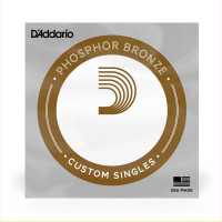 PB047 Phosphor Bronze Wound Acoustic Guitar Single String, .047