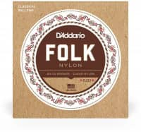 EJ33 - Folk Nylon Guitar  80/20 Bronze