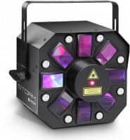 STORM 3-IN-1 Derby Strobe Grating Laser