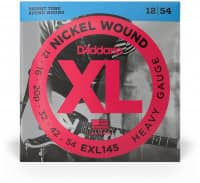 EXL145 - XL Electric Nickel Wound, Plain Steel 3rd 12-54