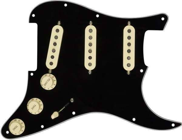 Pre Wired Pickguard Set Texas Special BWB