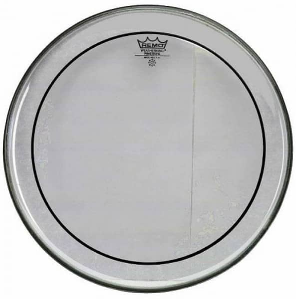 Pinstripe - Bass Drum Fell - 20 - Clear