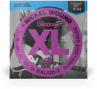 EXL120-7 - XL 7-Strings Electric Nickel Wound 09-54