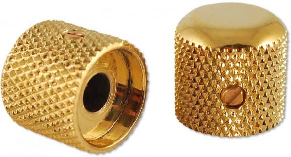 Vintage Dome Knobs Gold