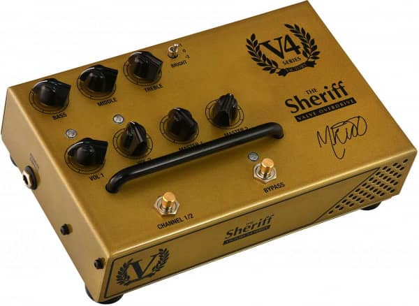 V4 The Sheriff Pedal Preamp