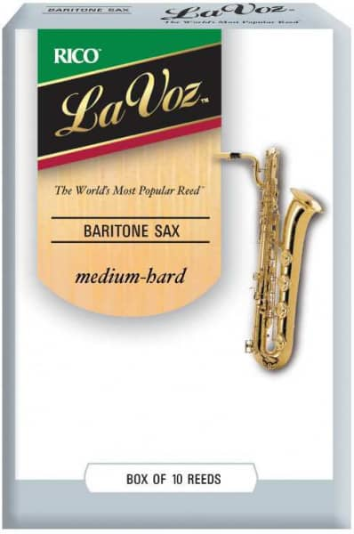 La Voz Medium-Hard Baritonsaxophon 10er Pack