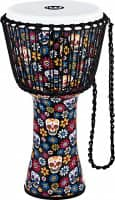 PADJ7-L-F Rope Tuned Series Djembe - 12 Zoll - Day Of The Dead