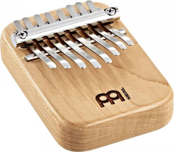 Solid Kalimba, 8 notes, maple