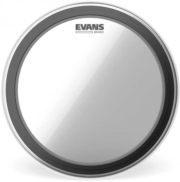 BD16EMAD - EMAD Bassdrum Fell - 16 Zoll - Clear