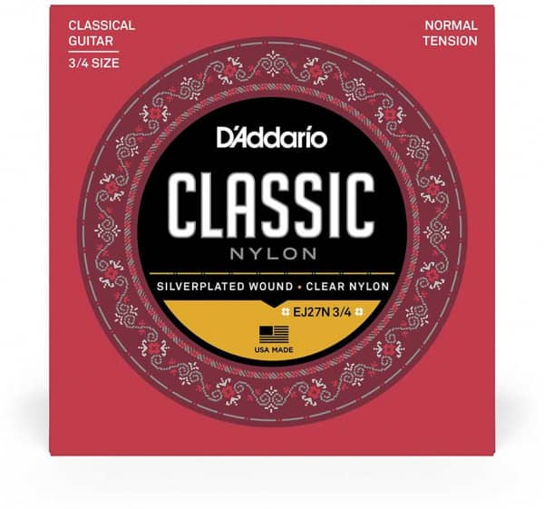 EJ27N 3/4 - Student Classical Nylon - Normal Tension