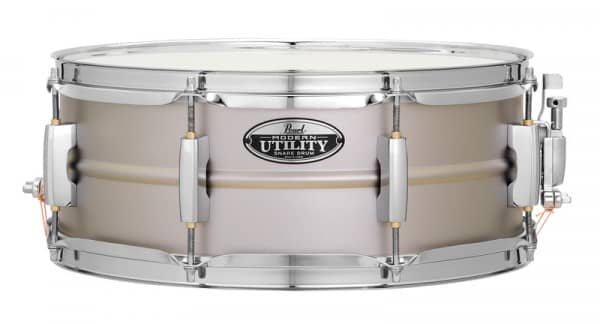 Modern Utility Snare - 14 x 6,5 Zoll - Textured Steel