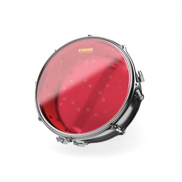 B14HR - Hydraulic Red - Snare Fell - 14 Zoll - Coated