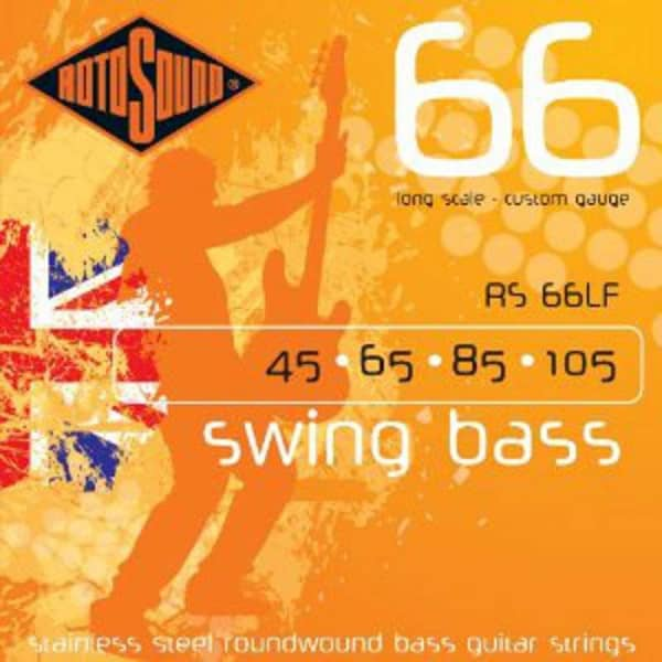 RS66LF Swing Bass Stainless Steel 045 - 105