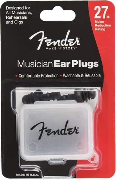 Musician Series Black Ear Plugs