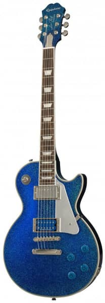 Tommy Thayer Electric Blue Les Paul Outfit