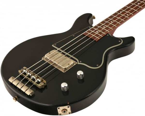 Thunders Bass Black Heavy Aged