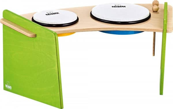 Hand Drum Pair With Stand