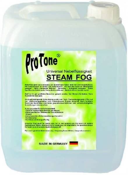 Nebelfluid Steam Fog 5 Liter