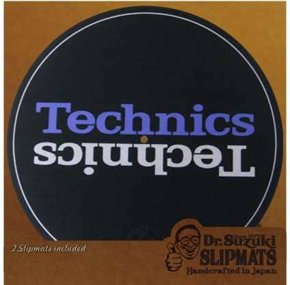 Dr.Suzuki Slipmats Mix Edition Technics
