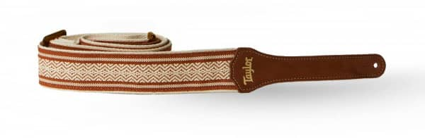 Academy Strap White/Brown