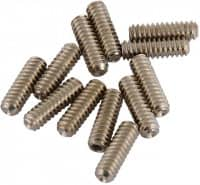 Bridge Height Screws Std Bass Nickel 12 Stück