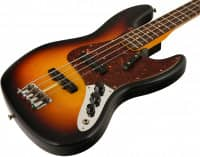 Custom Shop 1962 Jazz Bass Journeyman Relic RW 3TS