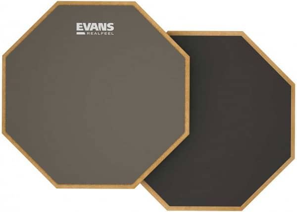 RF12D - RealFeel by Evans - Two-Sided Practice Pad - 12 Zoll
