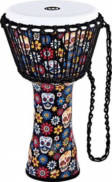 PADJ7-M-F Rope Tuned Series Djembe - 10 Zoll - Day Of The Dead