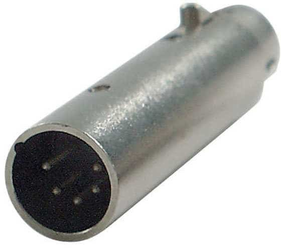 FLA29 DMX Adapter 3-Pol XLR Female auf 5-Pol XLR Male