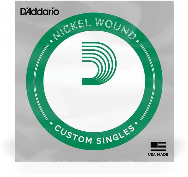 NW036 Nickel Wound Electric Guitar Single String, .036