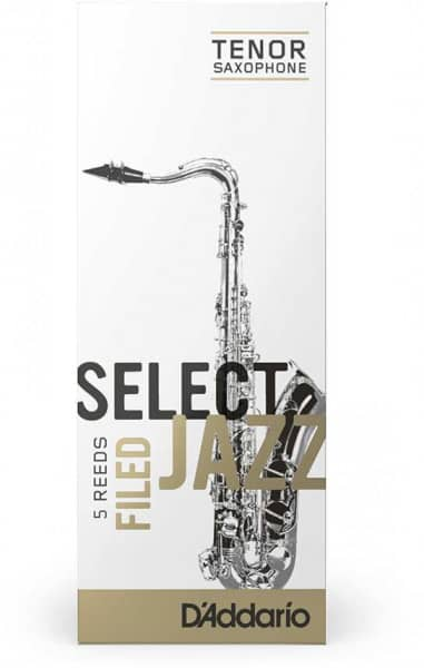 Rico Select Jazz filed - Tenor Sax 4S - 5er Pack