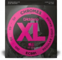 ECB81 - XL Bass Chromes, Long Scale, 45-100