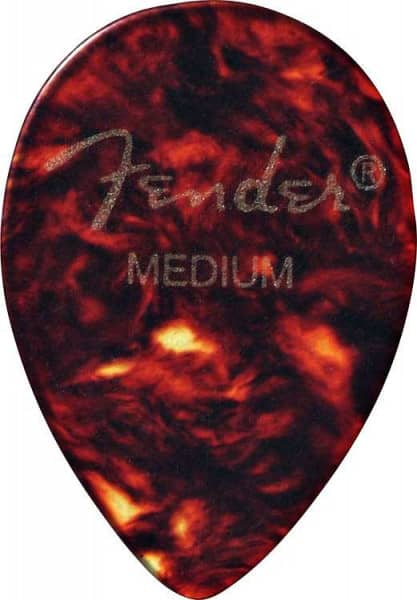 358 Shape Classic Celluloid Pick - Medium