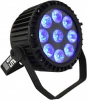 LED Par Pro 9x15W RGBWA+UV, IP65, wasserdicht
