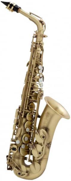 Reference 54 Altsaxophon patiniert