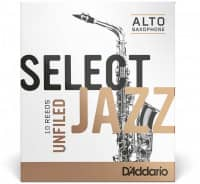 Select Jazz Unfiled - Alt Saxophone 2S - 10er pack
