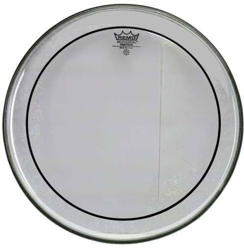 Pinstripe - Bass Drum Fell - 18 Zoll - Clear