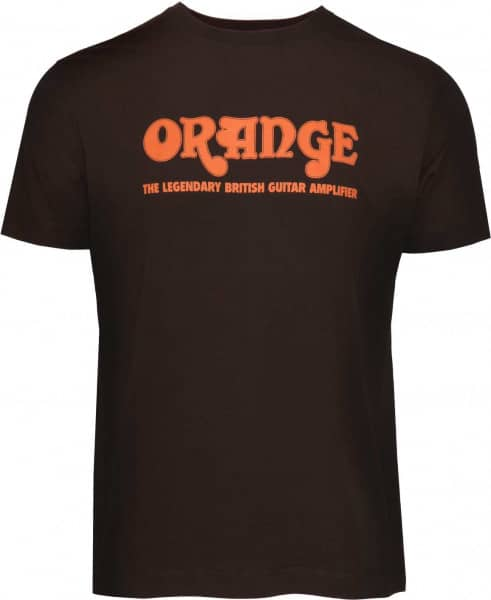 Classic Orange T-Shirt Brown - M