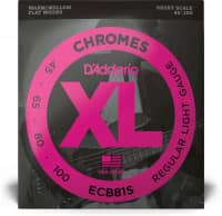 ECB81S - XL Bass Chromes, Short Scale 45-100