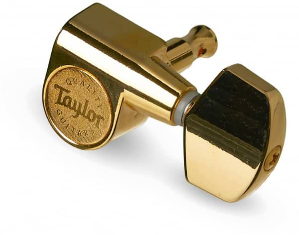 Guitar Tuners Polished Gold